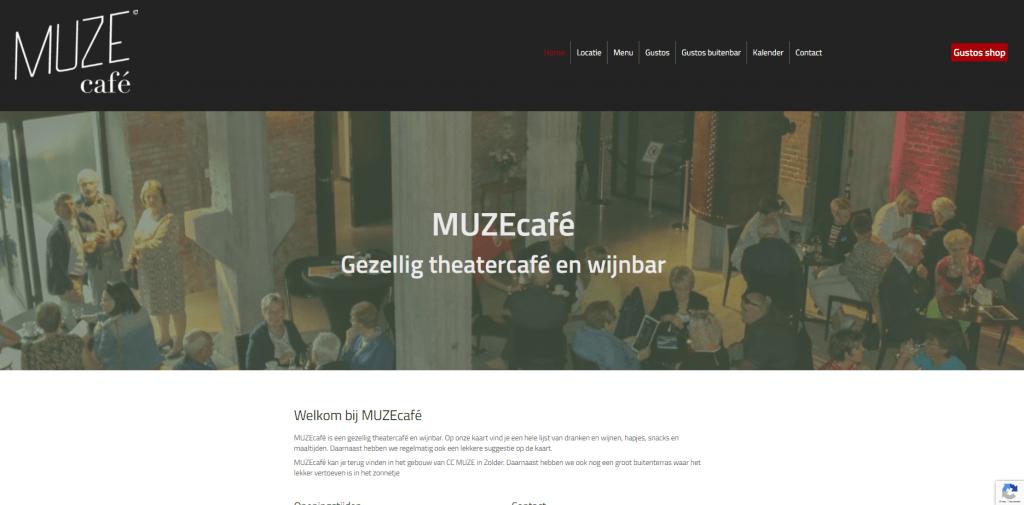 Portfolio: Rainbow Solutions Webdesign: Muzecafe