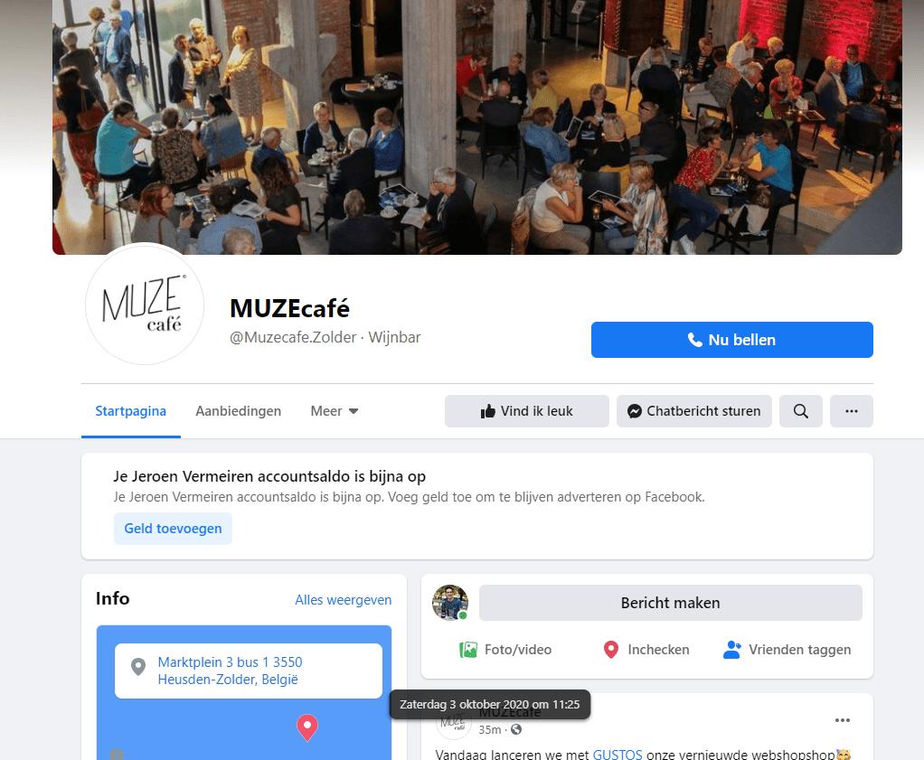 Portfolio: Rainbow Solutions Webdesign: facebook: Muzecafe